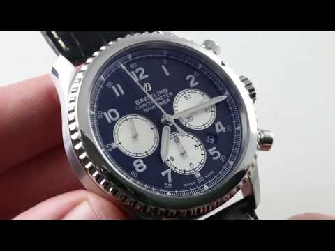 Breitling Navitimer 1 B01 Chronograph AB0127211C1P1 Breitling Watch Review from YouTube · Duration:  5 minutes 6 seconds