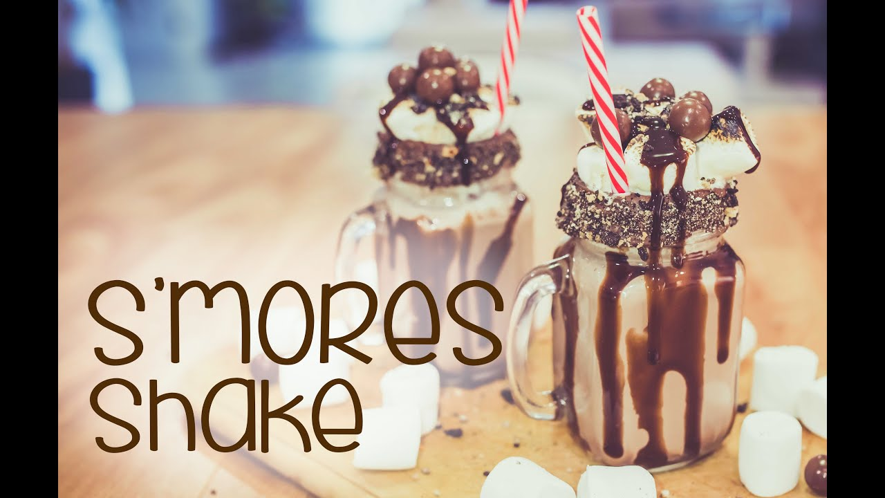 S39mores Shake Cake Quirk Youtube
