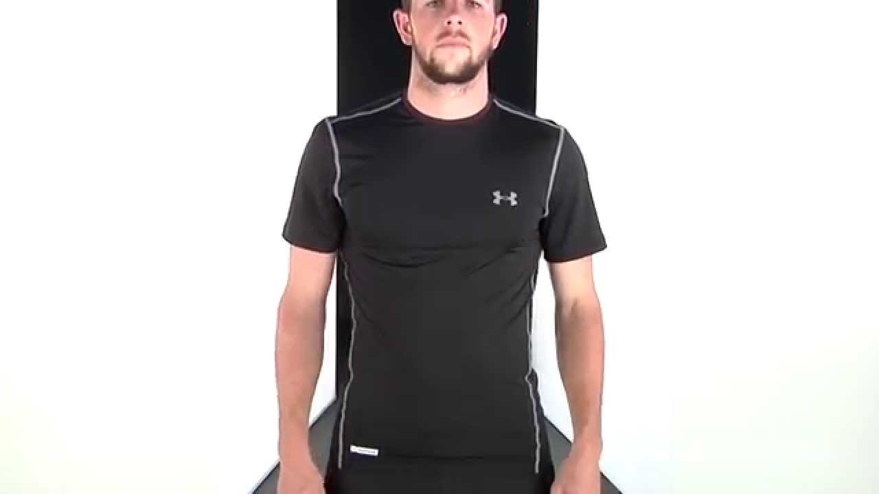 69586 69585 under armour heatgear sonic fitted t shirt for Under armour men s heatgear sonic fitted t shirt