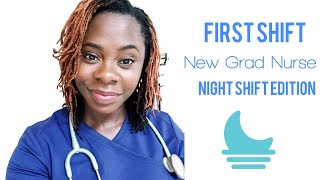 New Grad Nurse | First Night Shift, RN Vlog