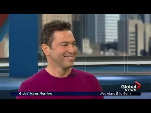 MARIO FRANGOULIS on Global News Morning Montreal (sings acapella LIVE!)
