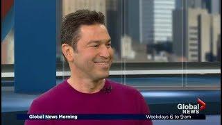 MARIO FRANGOULIS on Global News Morning Montreal (sings acapella LIVE!)
