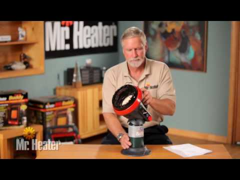 Mr. Heater Little Buddy Indoor/Outdoor Propane Heater - 3800 BTU, Model# MH4B