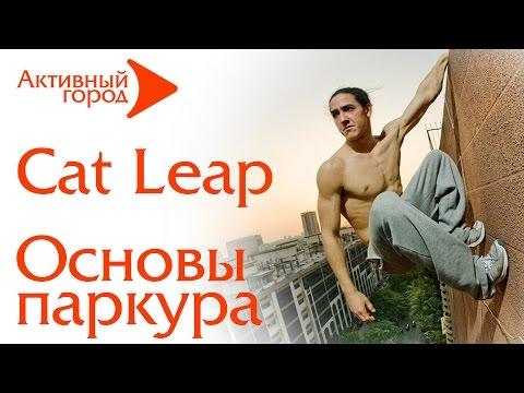 УРОКИ ПАРКУРА Cat Leap  Кэт Лип Паркур для начинающих №8