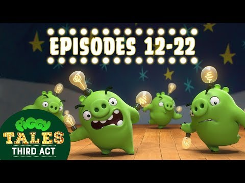 Angry Birds | Piggy Tales | Third Act - Compilation Ep12-22