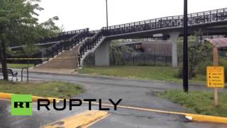 USA: Hazardous chemicals released after freight train derails in D.C.