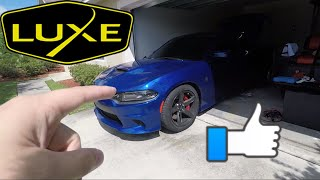 Got to help Luke modify his 2018 Hellcat Charger today. Debadged th...