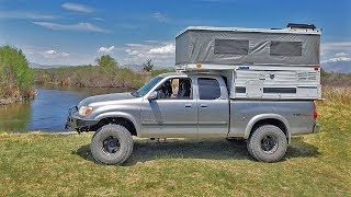 Jason Builds Dream Overland Rig for a fraction of the cost - FOUR WHEEL CAMPER EAGLE TOYOTA TUNDRA