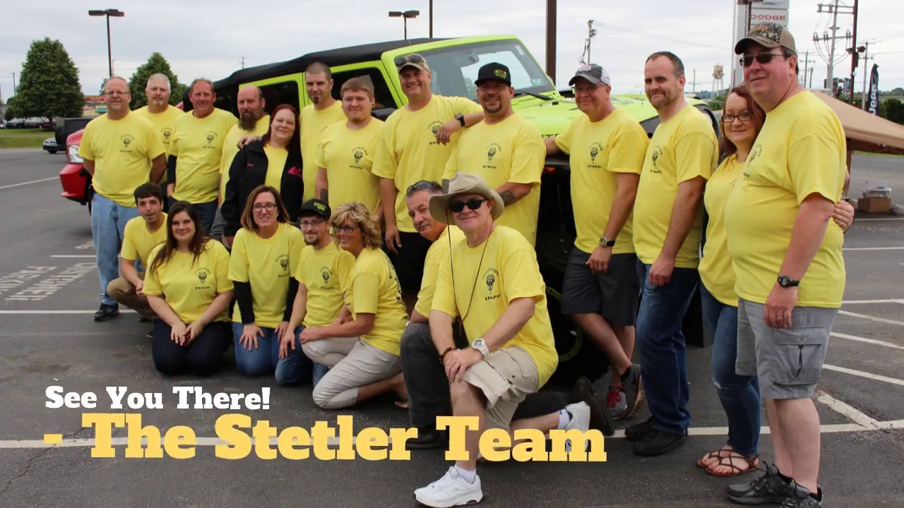 6th Annual Stetler Off Road Jeep Show
