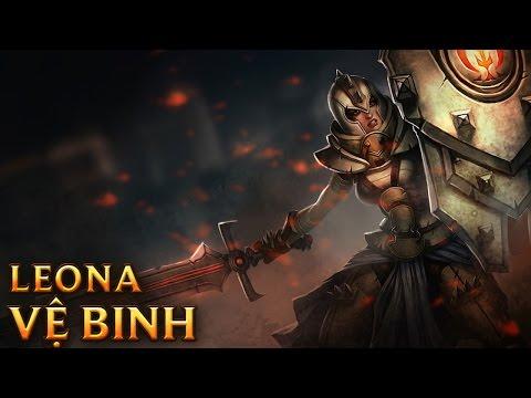 Defender Leona - Skins lol