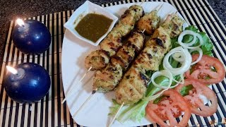 Chicken Malai Tikka Boti * Rizwanas Cooking