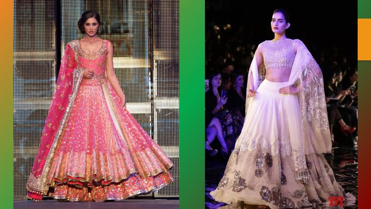 Exclusive Manish Malhotra Lehenga Designs For Wedding - YouTube