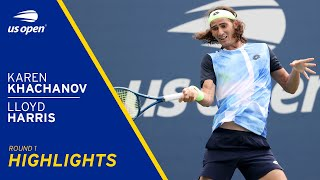 Karen Khachanov vs Lloyd Harris Highlights