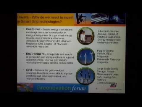 Greenovation Forum - The Smart Grid: Greener Energy Systems