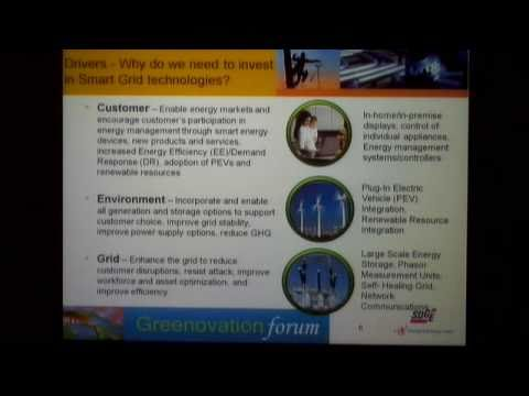 Greenovation Forum - The Smart Grid: Greener Energy Systems