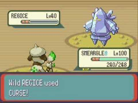 Pokemon Emerald - Capturing Regice