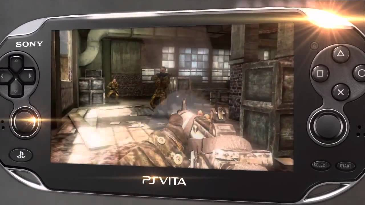 Playstation Vita Call Of Duty : Gamescon trailers call of duty black ops