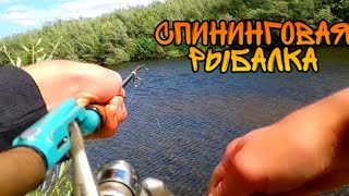 Идём на спиниговую рыбалку сорвалась большая щука сломался спиннинг поймали несколько щук