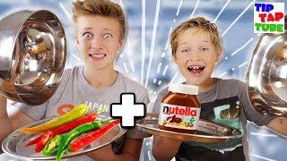 Verrückte skurile Essens-Kombinationen 🤢 TipTapTube 😁 Familienkanal 👨👩👦👦