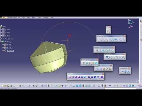 SURFACING INTRODUCTION CATIA V5
