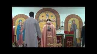 Syrian Orthodox Holy Qurbana in Syriac Language celebrated by Issac Mar Osthathios