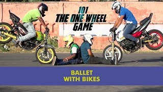 Ballet With Bikes | One Wheel Game | Unique Stories from India