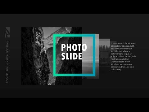 Animated PHOTO GALLERY In PowerPoint. Powerpoint Tricks