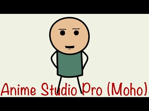 Anime Studio Pro 11 (Moho Pro) - Как сделать векторного костяного персонажа. Создание персонажей