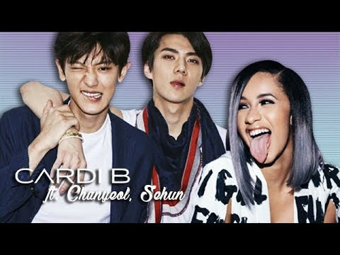 Cardi B  I Like It ft Chanyeol, Sehun Mashup