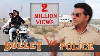 Bullet  v/s Traffic Police   Faridabad Rockers