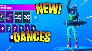 NEW! DJ YONDER SKIN With ALL NEW SEASON 6 DANCES! Fortnite Battle Royale