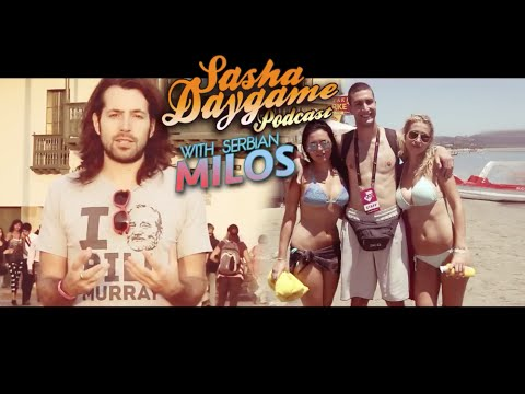 Sasha Daygame Podcast - Milos and John Keegan