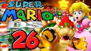 Super Mario 64 Ds # 26 ★ Kampf Um Peachs Kuchen! [ende / Hd]