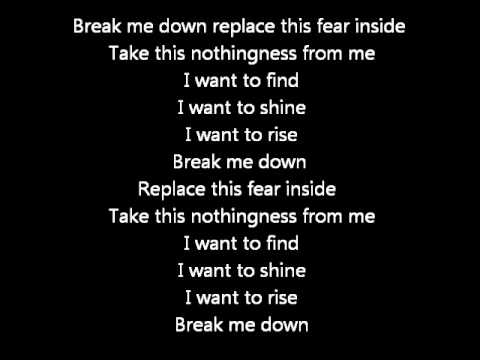 DAVID CASSIDY - BREAKIN' DOWN AGAIN LYRICS