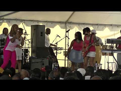 Be'la Dona Band Live @ Bar B Q Battle DC 6/22/13 Part.1