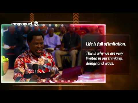 Download Be an imitator of God by prophet Tb Joshua