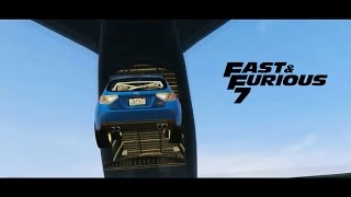 Fast And Furious 7- Трейлер. [GTA 5]