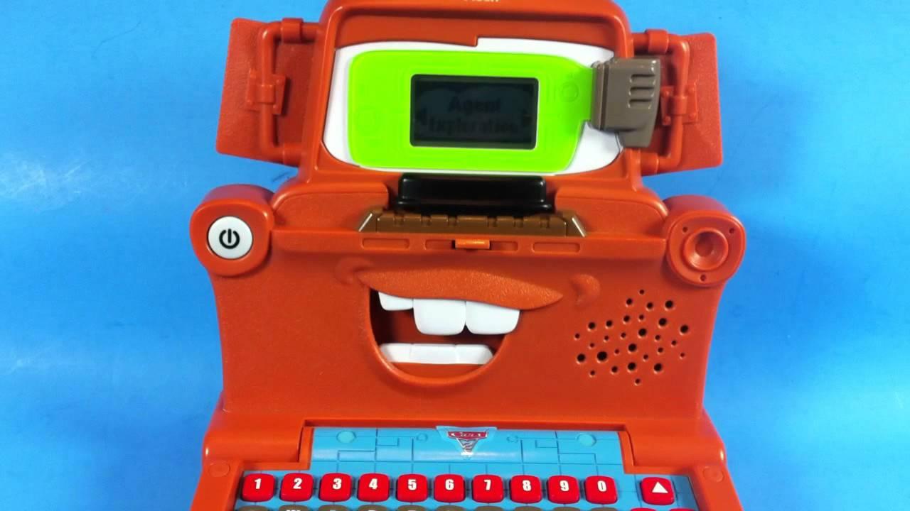 Vtech Disney Pixar Cars Mater S Spy Mission Laptop