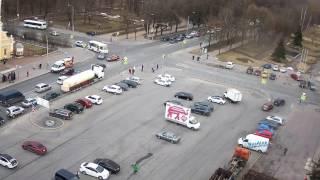 Авария в Красном Селе 27.04.17