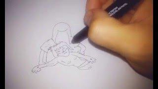 Como desenhar Maria chora a morte de Jesus
