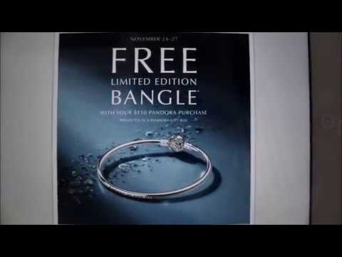 pandora black friday free bracelet