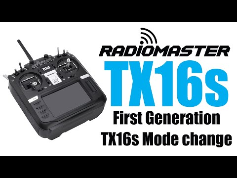 RadioMaster TX16s Mode 2 to Mode 1 Change How-to