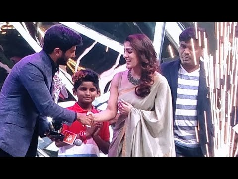 Dulquer Salman Mass Entry at Vijay TV Awards 2018