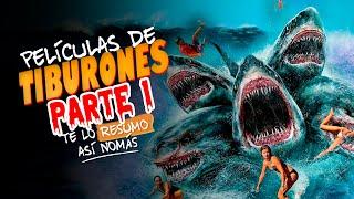 Te Lo Resumo | 3 Películas de Tiburones Así Nomás