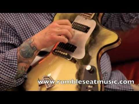 Vintage Guitars at Rumble Seat Music