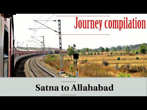 Satna to Allahabad Full Journey Compilation || Onboard 15118 Jabalpur-Manduadih Express || Manikpur