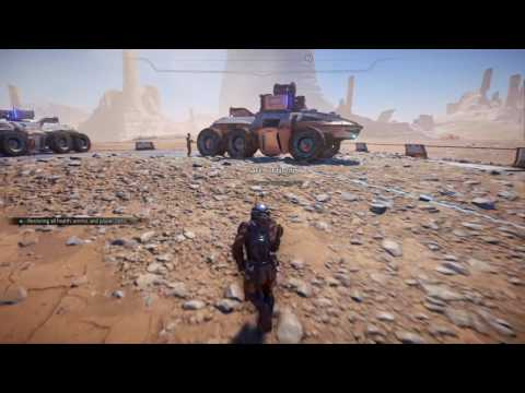 Mass Effect: Andromeda Explorer blink animation