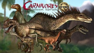 Carnivores: Dinosaur Hunter — NEW UPDATE!!! Canon-Style Dinosaurs and a Small Spinosaurus!!