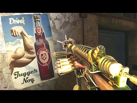 Verrückt Remastered PS4 Zombies Chronicles Call of Duty Black Ops 3 DLC5 Gameplay