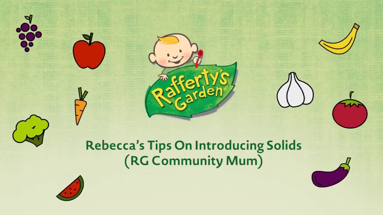 Rebeccau0027s Tips On Introducing Solids (Raffertyu0027s Garden Community Mum)